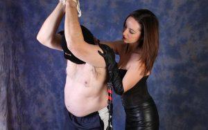 BDSM, dominante meesteres in het leer